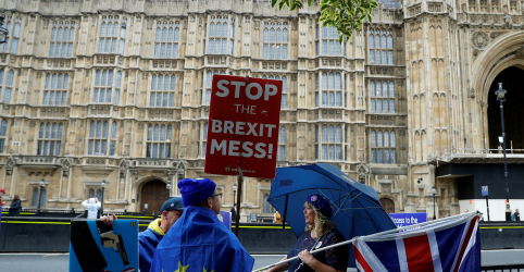 Placeholder - loading - Parlamento britânico será suspenso nesta segunda-feira até outubro, diz porta-voz de Johnson