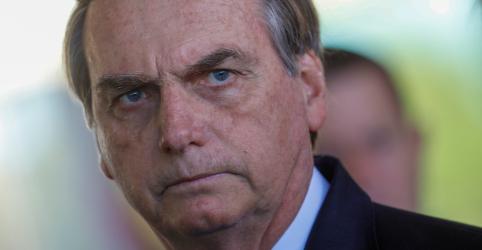 Placeholder - loading - Imagem da notícia Bolsonaro tem boa evolução após cirurgia e diz que volta ao trabalho na terça-feira