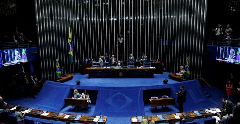 Placeholder - loading - Imagem da notícia Senado aprova nova lei de telecomunicação e projeto segue para sanção