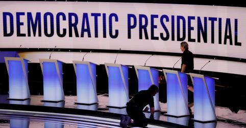 Biden e Warren dividirão palco de debate presidencial democrata pela primeira vez