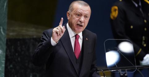 Placeholder - loading - Imagem da notícia Erdogan diz que Turquia lançará operação militar no nordeste da Síria