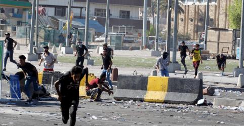 Placeholder - loading - Cinco pessoas são mortas em novos confrontos entre manifestantes e polícia em Bagdá