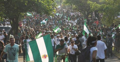 Placeholder - loading - Centenas de milhares de pessoas expressam indignação com a resposta de Evo Morales a incêndios florestais