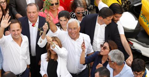 Placeholder - loading - Partido de premiê de Portugal assegura forte liderança antes de eleição de domingo