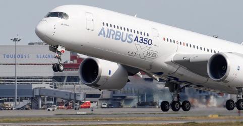 Placeholder - loading - Imagem da notícia Airbus supera meta, entrega 863 jatos em 2019 e toma 1º lugar da Boeing
