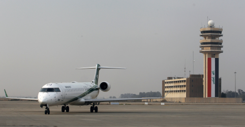 Placeholder - loading - Imagem da notícia Foguetes atingem aeroporto de Bagdá, várias pessoas ficam feridas