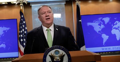 Placeholder - loading - Imagem da notícia Pompeo diz que ação dos EUA contra autoridade do Irã foi resposta a ataque iminente
