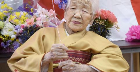 Placeholder - loading - Imagem da notícia Mulher japonesa de 117 anos marca novo recorde de pessoa mais idosa
