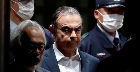 Ghosn viajou de trem-bala até Osaka em fuga para o Líbano, diz agência Kyodo