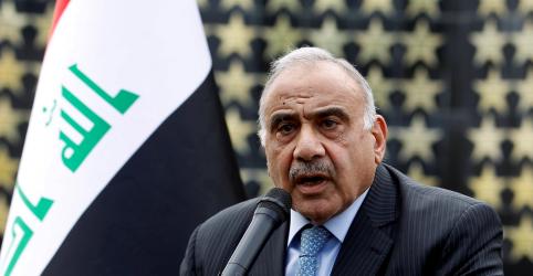 Placeholder - loading - Iraque e EUA devem trabalhar juntos na retirada de tropas, diz premiê iraquiano