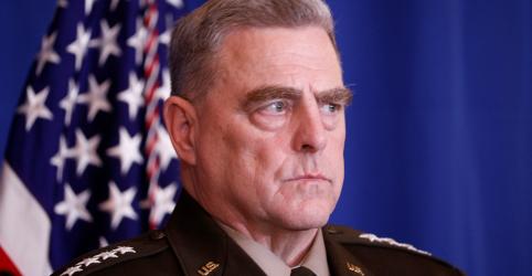 Placeholder - loading - Imagem da notícia Carta vazada ao Iraque é rascunho mal escrito, diz principal general dos EUA