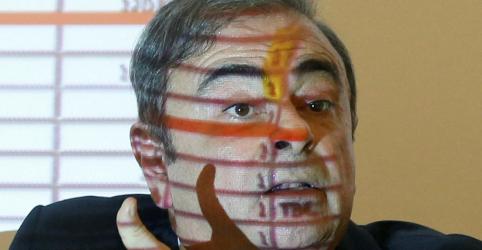 Placeholder - loading - Líbano proíbe ex-presidente da Nissan Ghosn de viajar, dizem fontes judiciais
