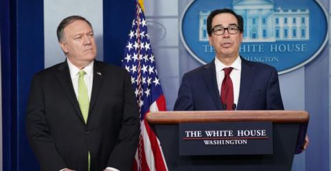 Placeholder - loading - Imagem da notícia EUA impõem mais sanções ao Irã por ataques com mísseis