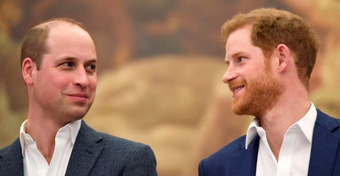 Príncipes William e Harry denunciam reportagem de jornal britânico
