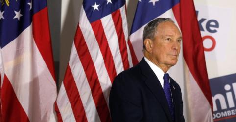 Placeholder - loading - Imagem da notícia Bloomberg usa fortuna, e agora tem mil funcionários em sua campanha presidencial nos EUA