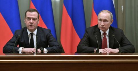 Placeholder - loading - Imagem da notícia Gabinete ministerial da Rússia renuncia, diz premiê Medvedev