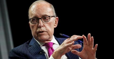 Kudlow diz que vai monitorar sucesso de fase 1 de acordo comercial com China