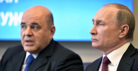 Placeholder - loading - Imagem da notícia Putin indica chefe pouco conhecido de serviço de impostos para premiê