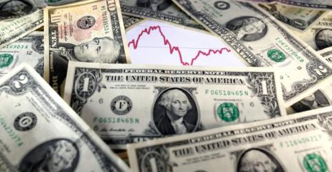 Placeholder - loading - Imagem da notícia Dólar ganha força, supera R$4,20 e bate máximas desde dezembro com demanda por segurança