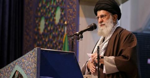 Líder supremo do Irã diz que ataques aos EUA mostram 'mão de Deus'
