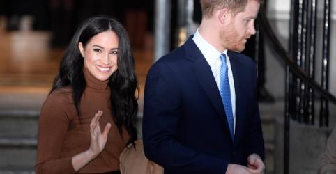 Harry e Meghan deixarão de ser membros da família real