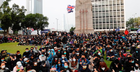 Placeholder - loading - Polícia prende organizador de protesto em Hong Kong