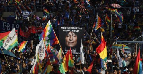 Placeholder - loading - Imagem da notícia Ex-líder boliviano Evo Morales realiza marcha na Argentina para marcar fim do mandato