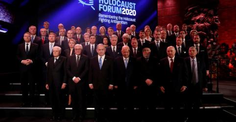 Placeholder - loading - Imagem da notícia Líderes mundiais condenam em conferência de Jerusalém crescente antissemitismo