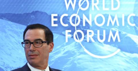 Secretário de Tesouro dos EUA espera novas negociações com a China para 'futuro próximo'