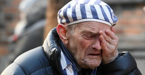 Placeholder - loading - Imagem da notícia Em Auschwitz, Polônia e Israel condenam ressurgimento do antissemitismo