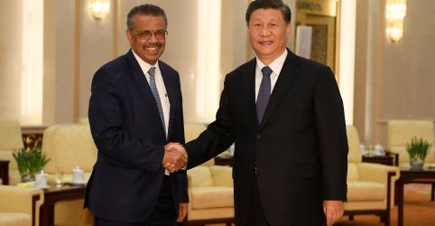 Presidente da China diz a diretor-geral da OMS que coronavírus é um 'demônio'