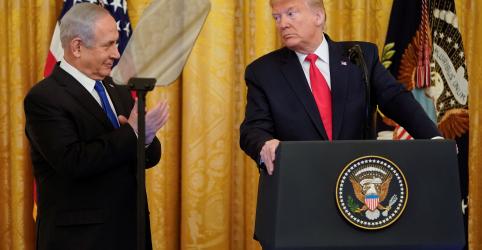 Trump apresenta plano de paz que favorece Israel e enfurece palestinos