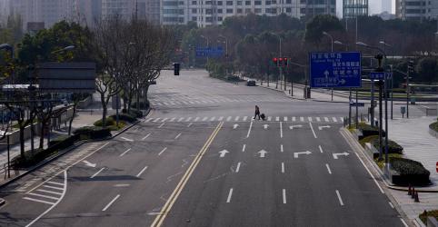 China continental tem 73 novas mortes por coronavírus na quarta-feira