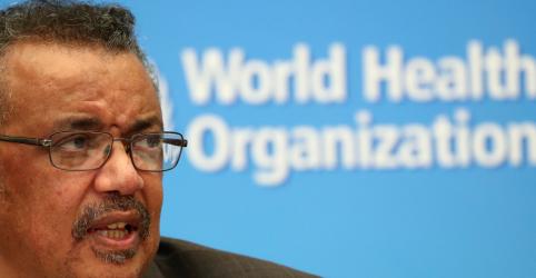 Emergência do coronavírus é 'grave ameaça ao mundo', diz OMS