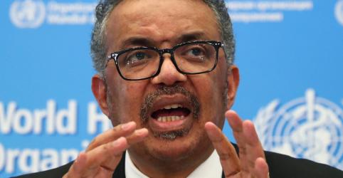 'Todos cenários estão sobre a mesa' no surto do coronavírus na China, diz chefe da OMS