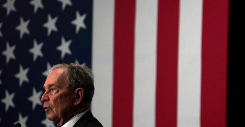 Placeholder - loading - Imagem da notícia Bloomberg aparece em 2º, atrás de Sanders e à frente de Biden na corrida democrata, mostra pesquisa Reuters/Ipsos