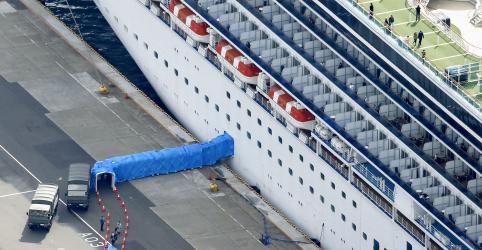 Placeholder - loading - Japão é criticado por esforços contra coronavírus em navio, passageiros começam a desembarcar