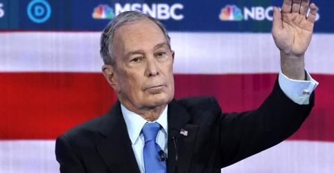 Placeholder - loading - Bloomberg vira alvo prioritário de ataques em debate entre presidenciáveis democratas nos EUA