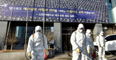 Cidade sul-coreana fica deserta depois de 'supercontágio' de coronavírus em igreja