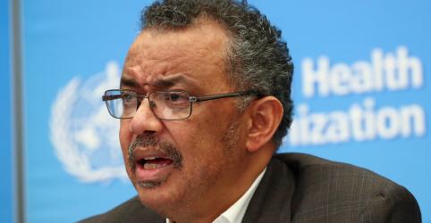 Mundo precisa agir rápido para conter o coronavírus, diz diretor-geral da OMS