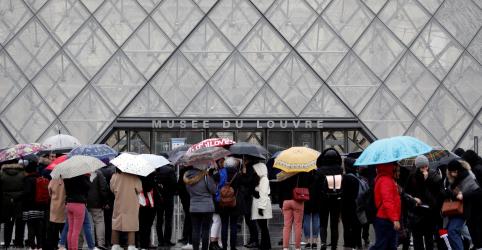 Placeholder - loading - Museu do Louvre fecha as portas novamente em meio a preocupações por coronavírus