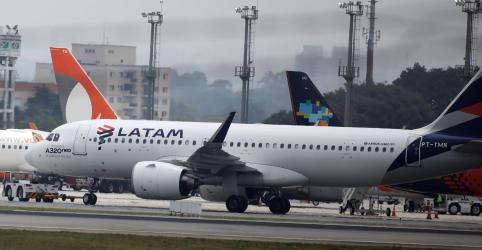 Placeholder - loading - Latam suspende voos entre SP e Milão por coronavírus e baixa demanda