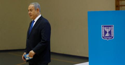 Placeholder - loading - Imagem da notícia Pesquisas de boca de urna em Israel mostram vitória de Netanyahu