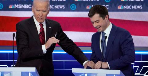 Placeholder - loading - Imagem da notícia Biden ganha impulso com apoio de Klobuchar e Buttigieg na Super Terça das primárias democratas