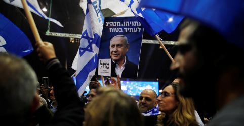 Placeholder - loading - Imagem da notícia Netanyahu lidera eleição de Israel, mas ainda sem maioria para governar