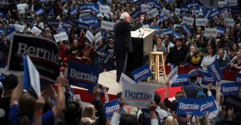 Placeholder - loading - Imagem da notícia Sanders espera se consolidar na Super Terça; Biden busca recuperar terreno