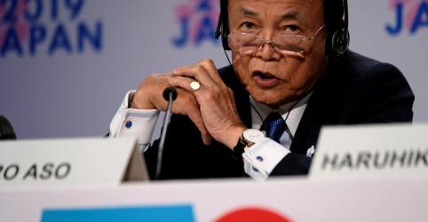 Ministro do Japão diz que resposta econômica a coronavírus varia para cada membro do G7