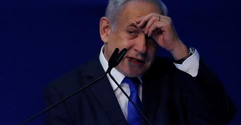 Placeholder - loading - Imagem da notícia Vantagem de Netanyahu encolhe e Israel tem perspectiva de mais uma eleição