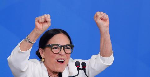 Placeholder - loading - Regina Duarte toma posse sob críticas de bolsonaristas e presidente diz que pode vetar indicações na Cultura