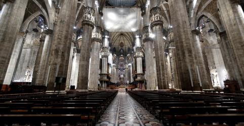 Bispos italianos cancelam missas de segunda a sábado em regiões afetadas por coronavírus